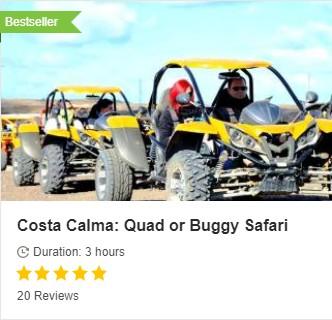 Quad-Buggy Costa Calma
